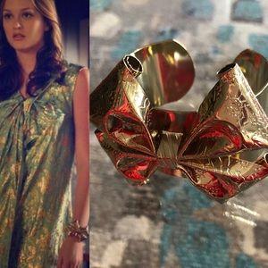 Rachel Leigh bow cuff bracelet Gossip Girl